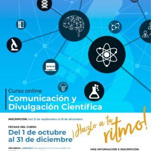 Curso de Comunicación y Divulgación Científica